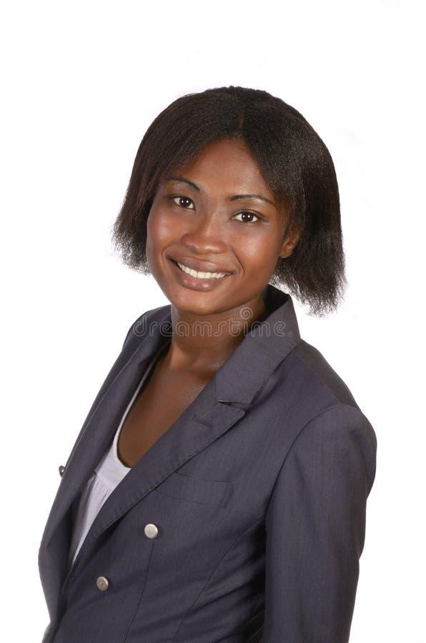 Mujer de negocios africana imagen de archivo libre de regalías
