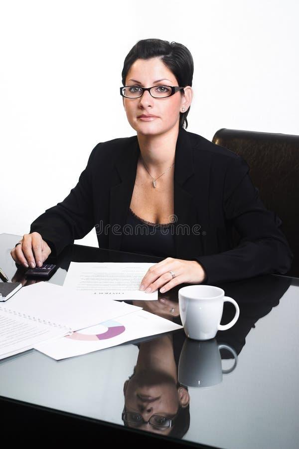 Mujer de negocios - aislada foto de archivo
