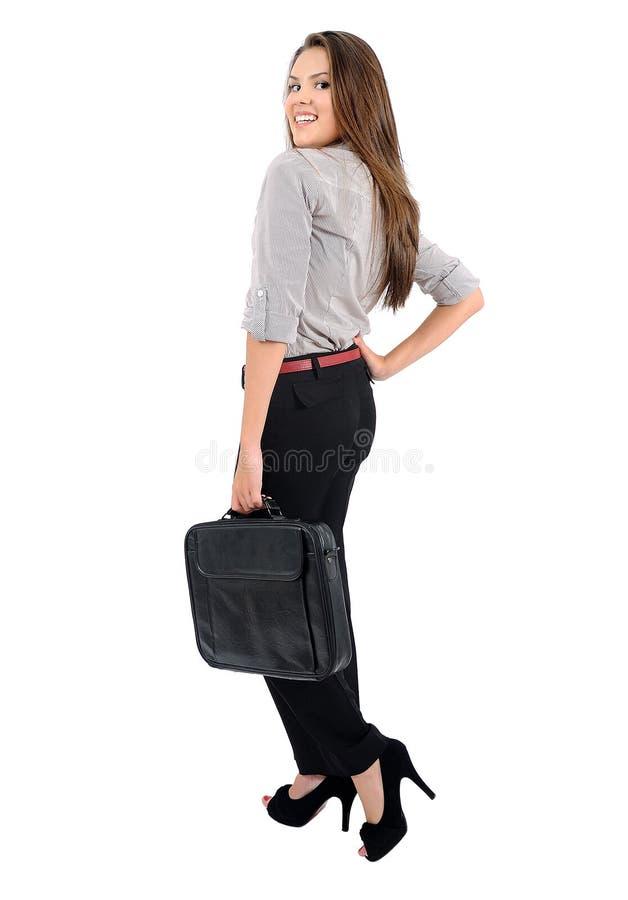 Mujer de negocios aislada foto de archivo libre de regalías