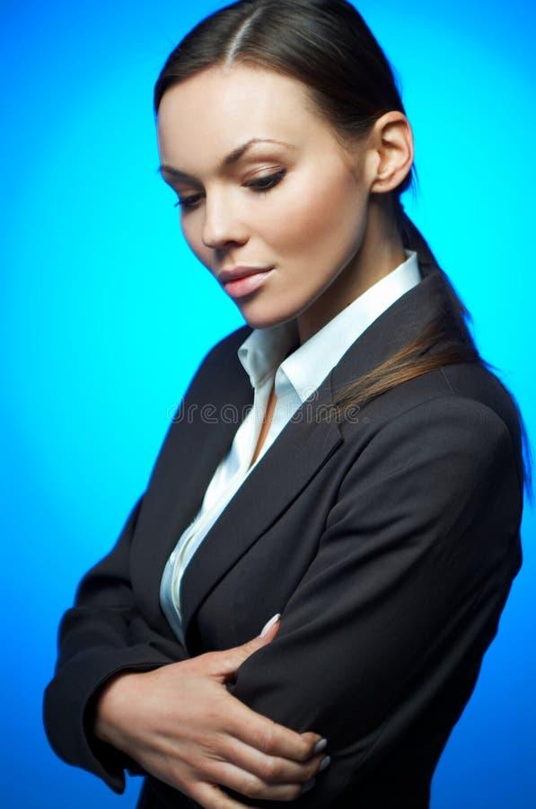 Mujer de negocios atractiva fotos de archivo
