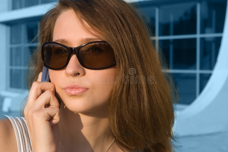Mujer de negocios atractiva de la belleza fotografía de archivo