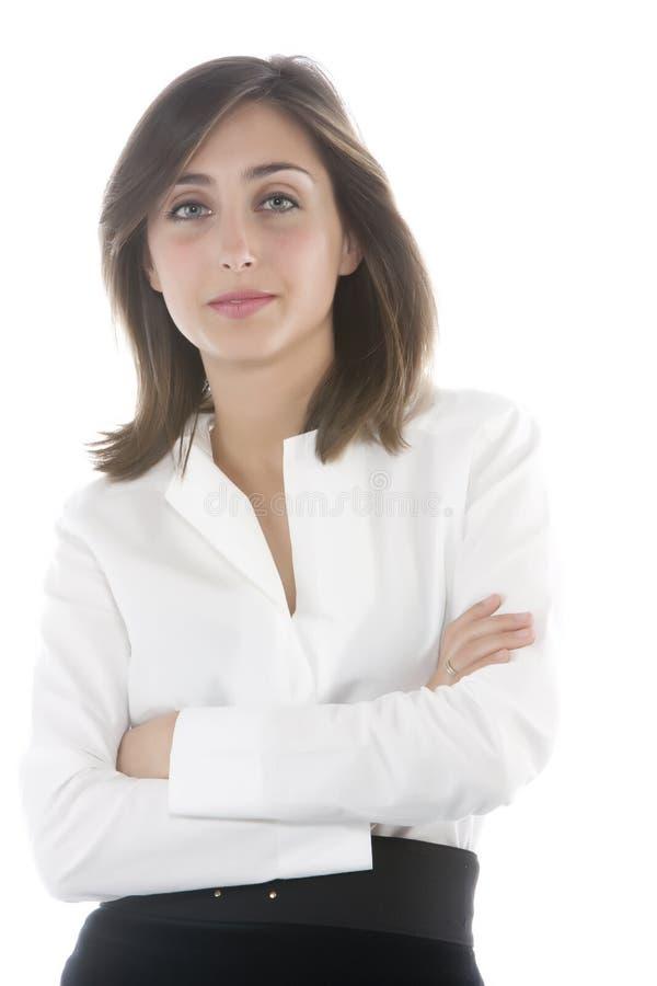 Mujer de negocios atractiva joven. imagen de archivo libre de regalías