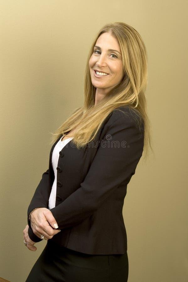 Mujer de negocios bonita fotos de archivo libres de regalías