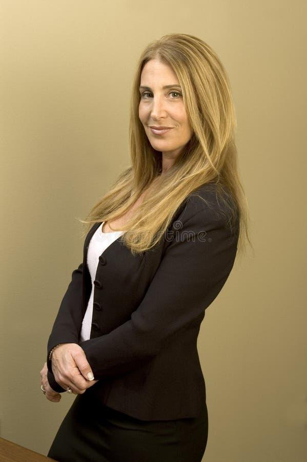 Mujer de negocios bonita imágenes de archivo libres de regalías
