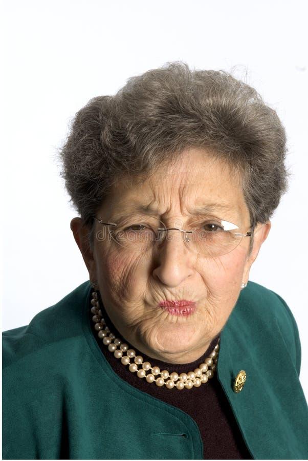 Mujer de negocios con actitud imagen de archivo libre de regalías
