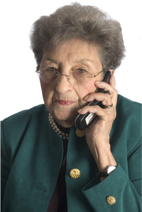 Mujer de negocios con actitud foto de archivo