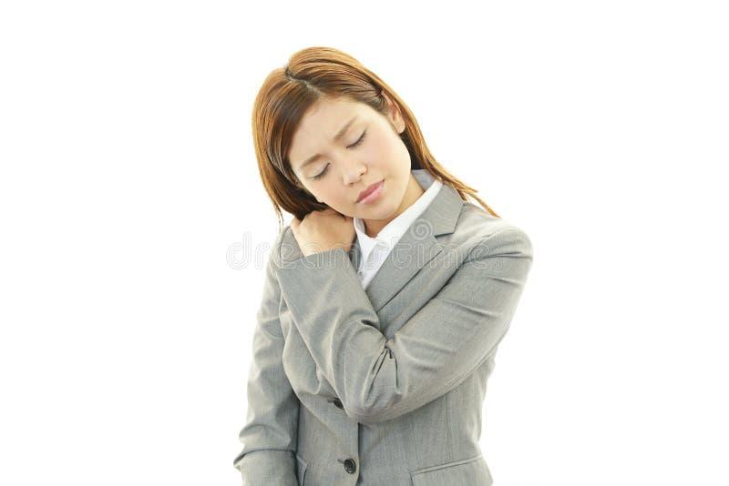 Mujer de negocios deprimida. fotos de archivo libres de regalías