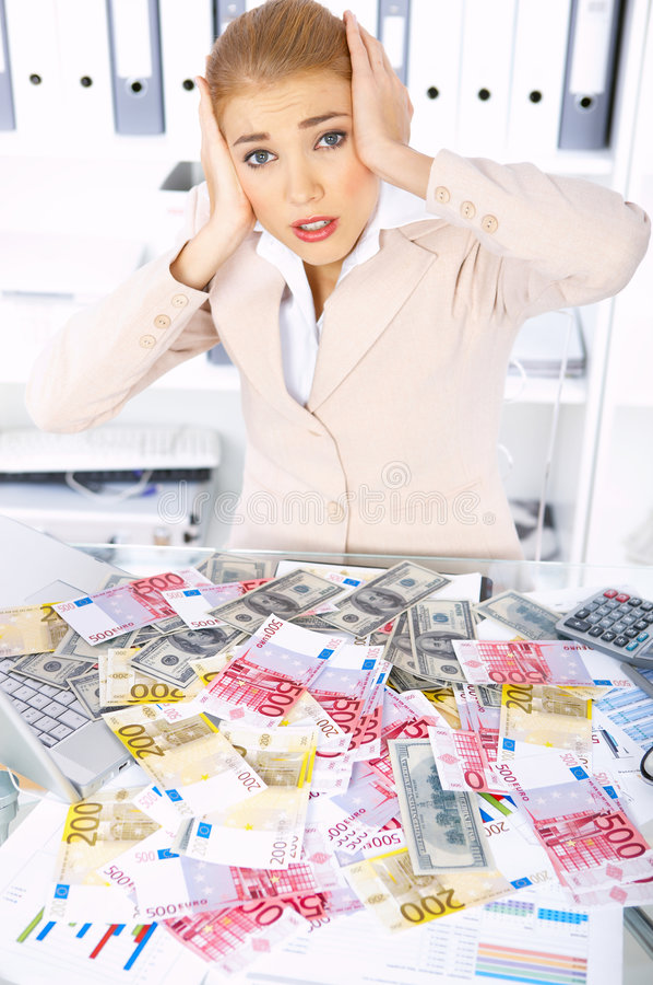 Download Mujer De Negocios En Oficina Foto de archivo - Imagen de negocios, documento: 7278594