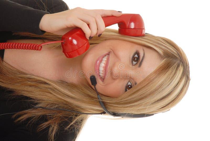Mujer de negocios encantadora 3 imagenes de archivo