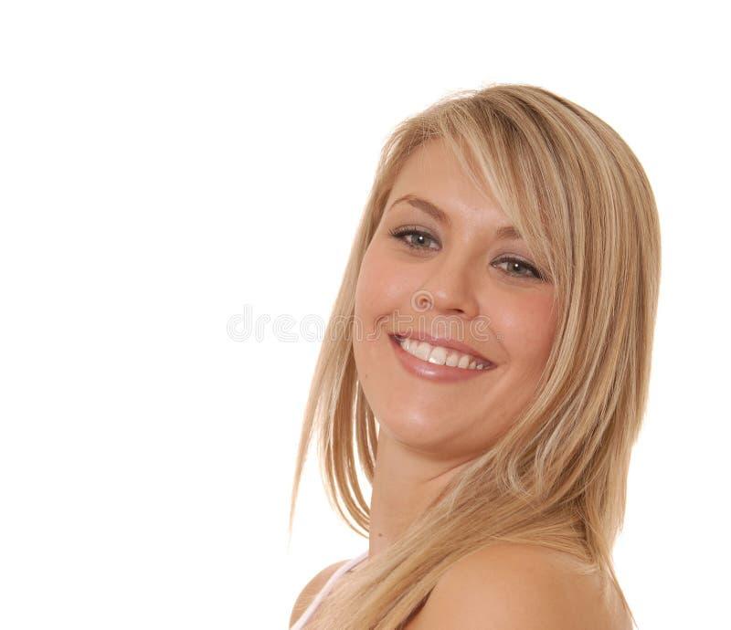 Mujer de negocios encantadora fotografía de archivo libre de regalías