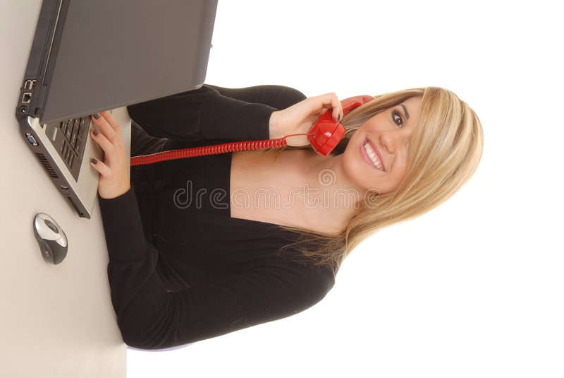 Mujer de negocios encantadora 9 imagen de archivo