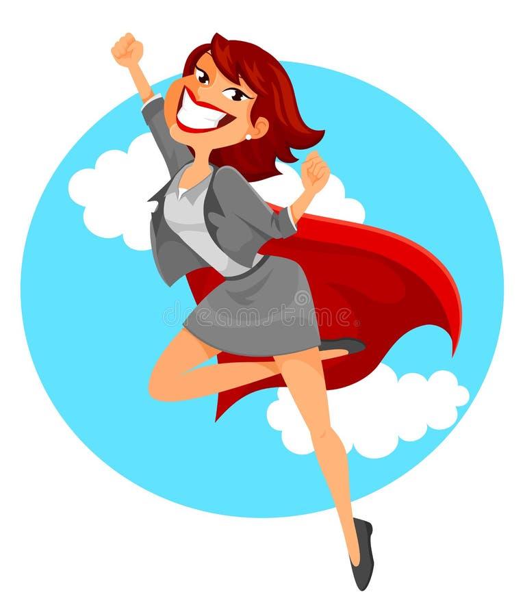 Mujer de negocios estupenda libre illustration
