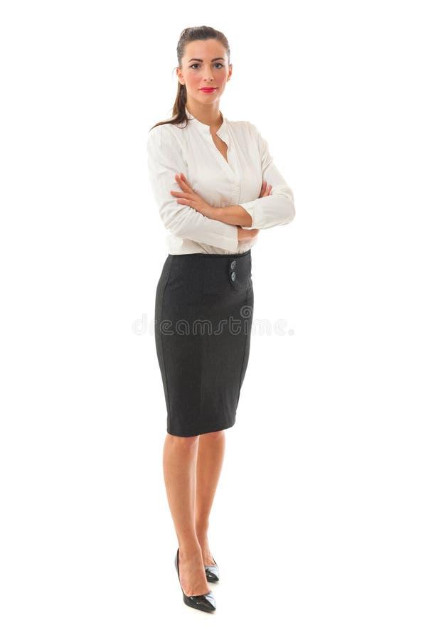 Mujer de negocios integral foto de archivo