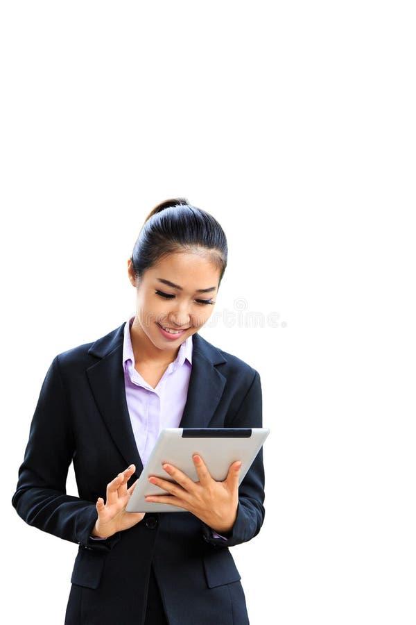 Download Mujer de negocios joven foto de archivo. Imagen de aislado - 100529626