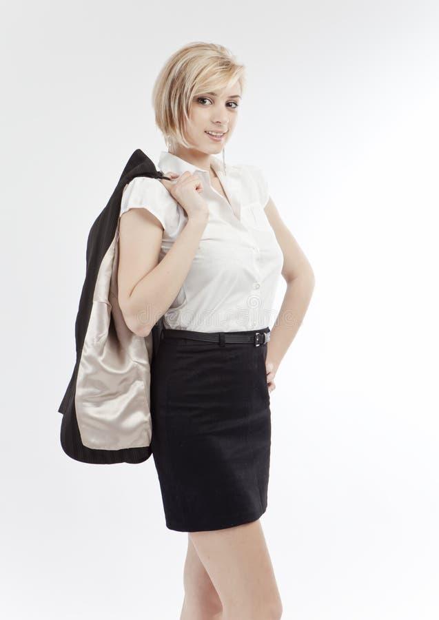 Mujer de negocios joven fotografía de archivo