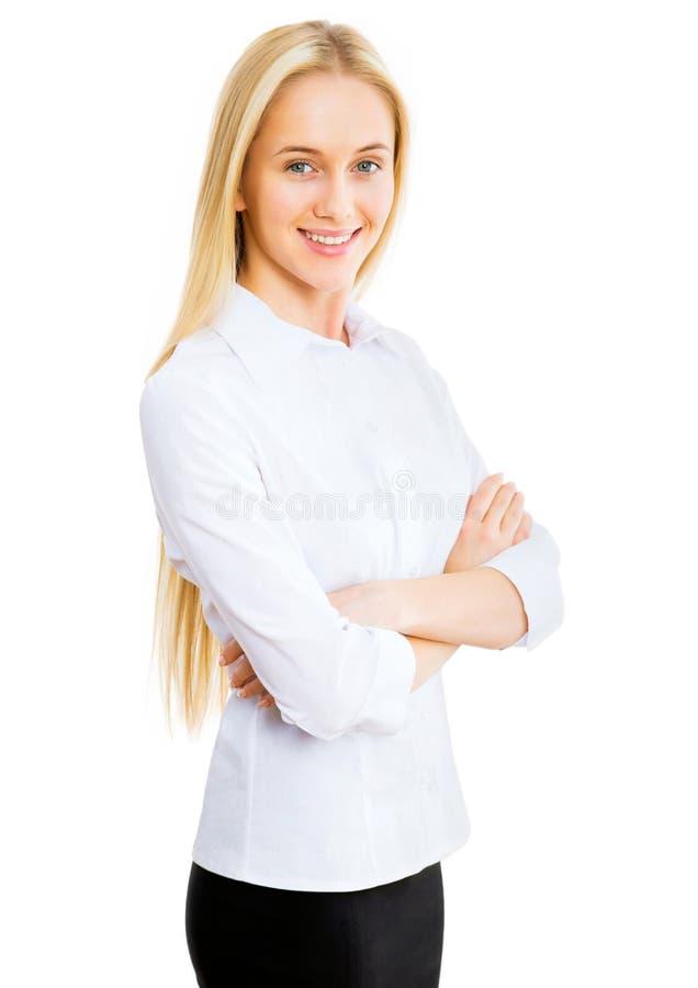 Download Mujer de negocios joven foto de archivo. Imagen de dreaming - 42430584