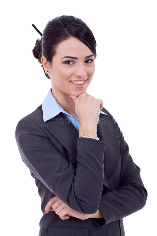 Mujer de negocios joven hermosa foto de archivo