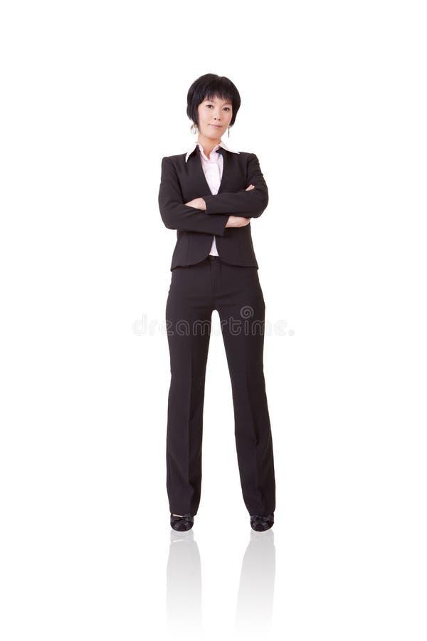 Mujer de negocios maduros confidente fotos de archivo libres de regalías
