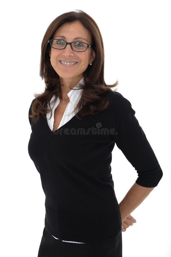 Mujer de negocios mayor fotografía de archivo
