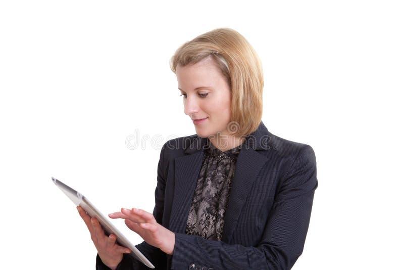 Mujer de negocios moderna foto de archivo libre de regalías