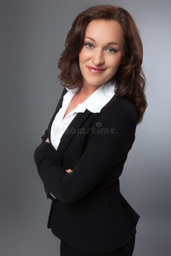 Mujer de negocios moderna imagen de archivo