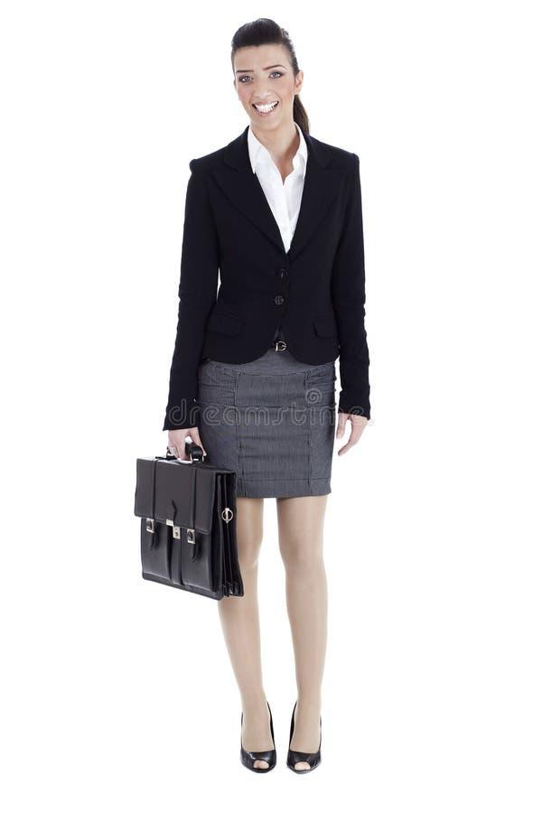 Mujer de negocios perfecta lista a la oficina foto de archivo libre de regalías