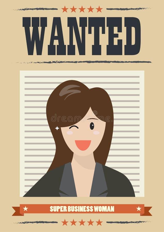 Mujer de negocios querida libre illustration