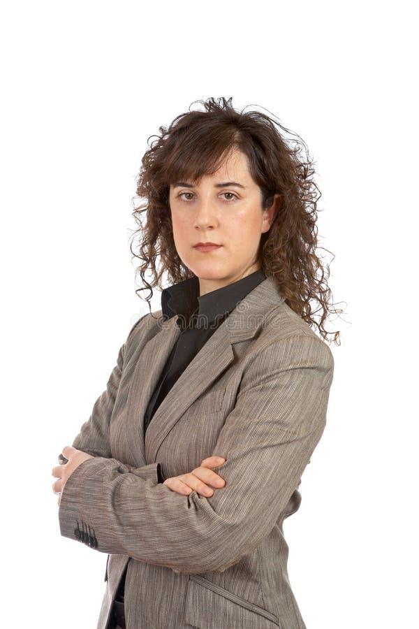 Mujer de negocios seria fotos de archivo