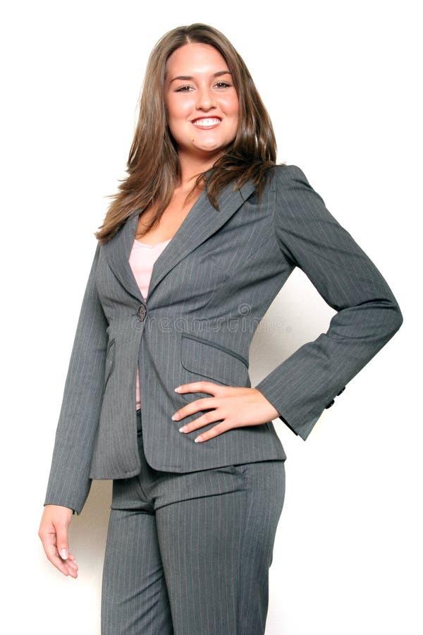 Mujer de negocios sonriente imágenes de archivo libres de regalías