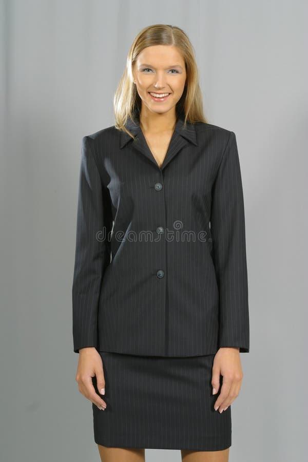 Mujer de negocios sonriente hermosa joven fotos de archivo