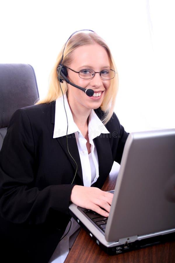 Mujer de negocios - Spoksewoman corporativo fotografía de archivo libre de regalías