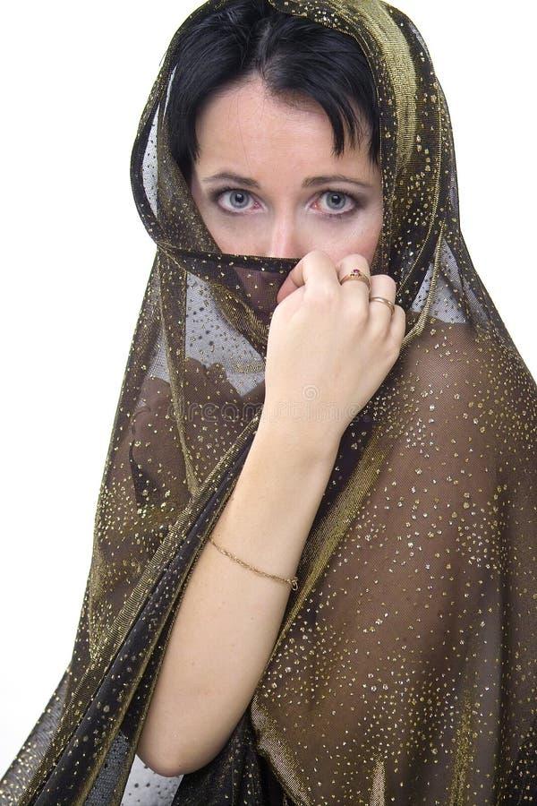 Mujer de Oriente foto de archivo libre de regalías