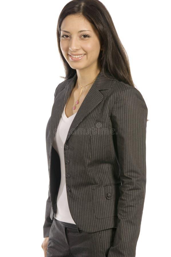 Mujer de Succesfull fotos de archivo