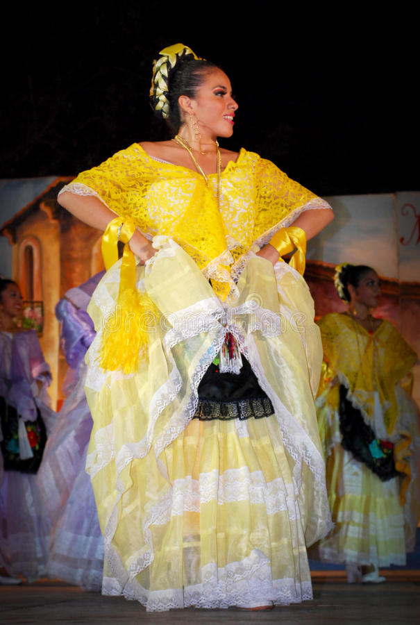 Mujer de Veracruz imágenes de archivo libres de regalías