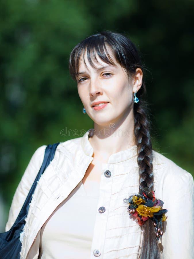 Mujer de Youn fotos de archivo