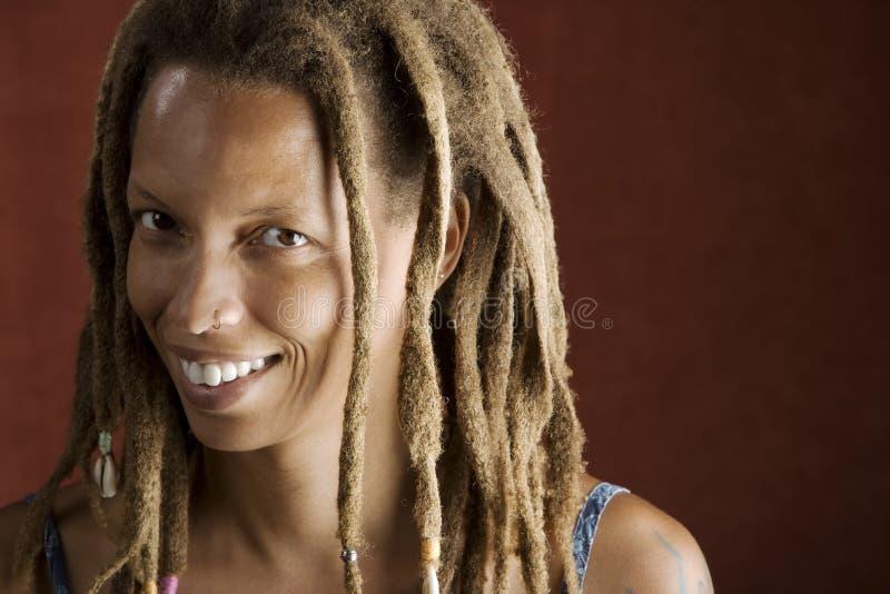 Mujer del afroamericano imagen de archivo libre de regalías