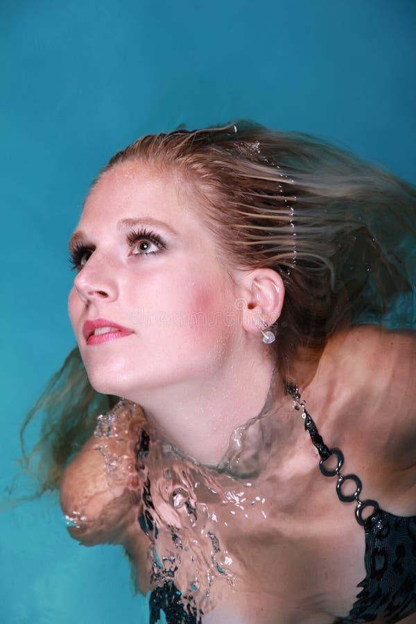 Mujer del agua fotos de archivo