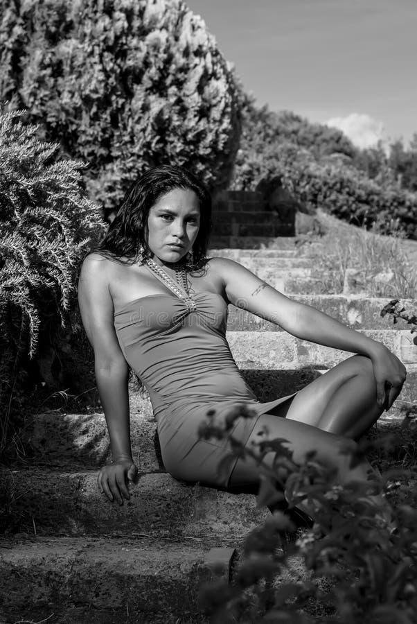 Mujer del amor fotografía de archivo