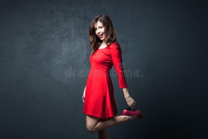 Mujer del baile imágenes de archivo libres de regalías