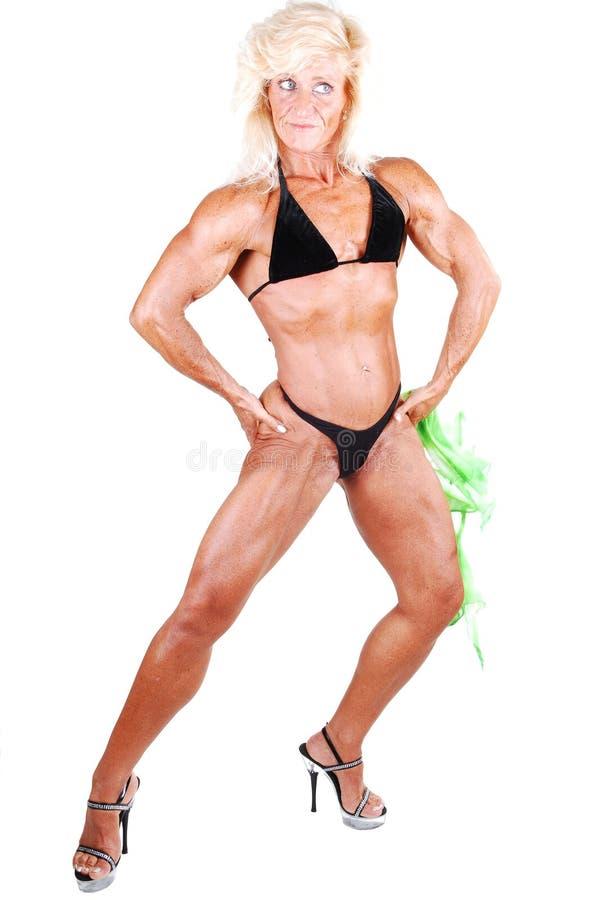 Mujer del Bodybuilding. fotos de archivo