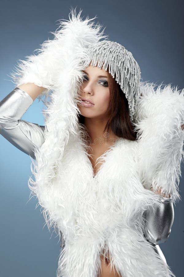Mujer del invierno imágenes de archivo libres de regalías