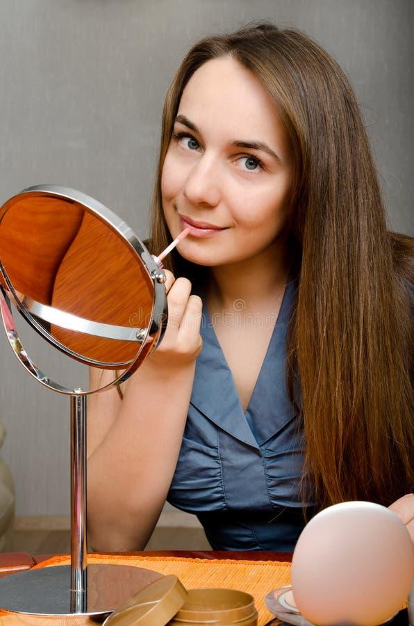 Mujer del maquillaje foto de archivo libre de regalías