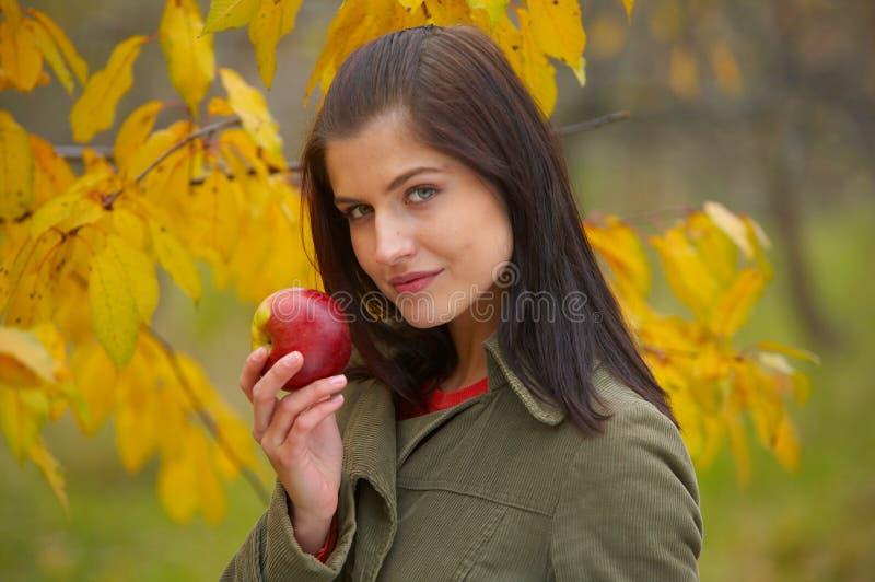 Mujer del otoño imágenes de archivo libres de regalías