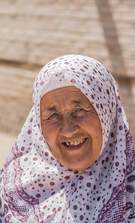 Mujer del peregrino imagen de archivo