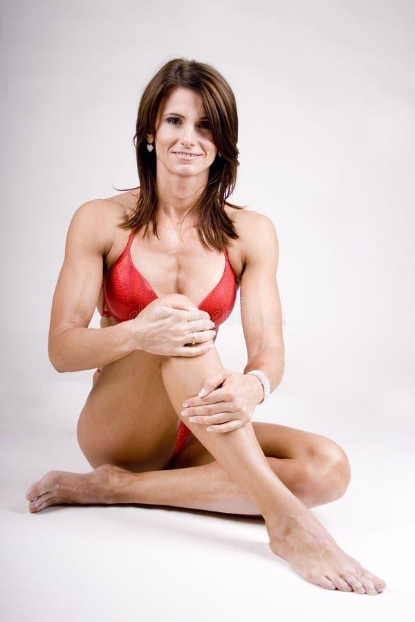 Mujer deportiva imagen de archivo libre de regalías