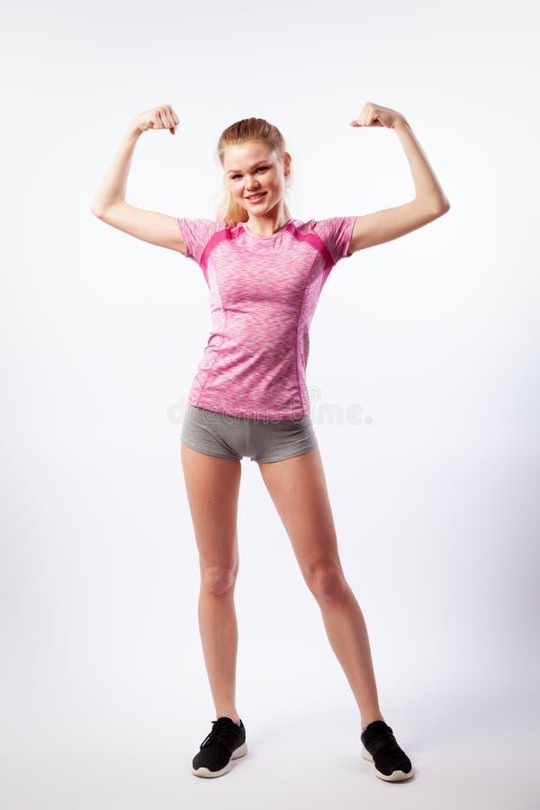 Mujer deportiva foto de archivo libre de regalías