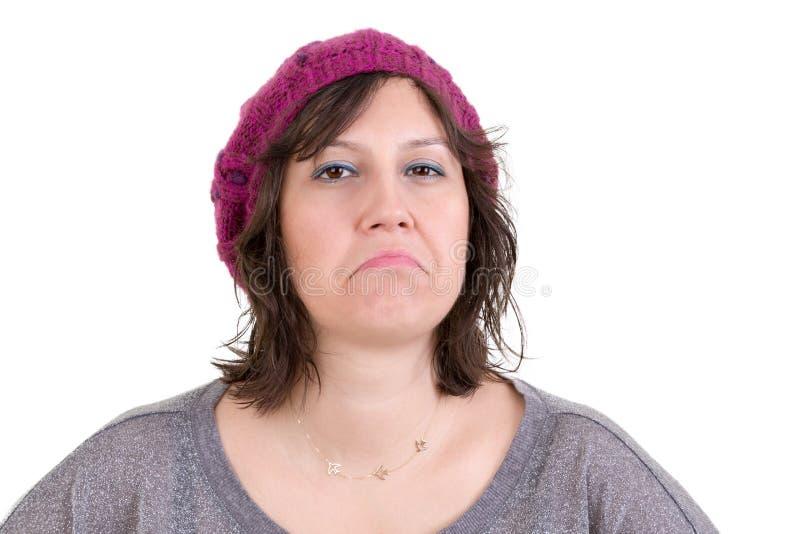 Mujer desdeñosa arrogante imagen de archivo libre de regalías