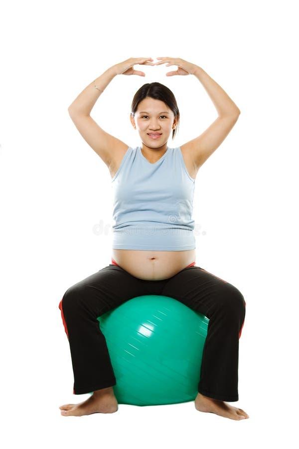 Mujer embarazada fotografía de archivo