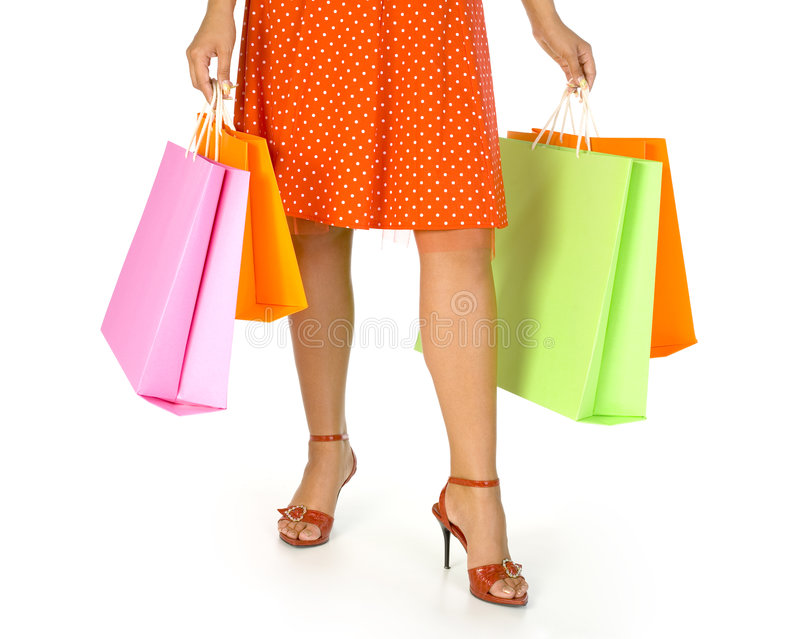Mujer en alineada imagen de archivo libre de regalías