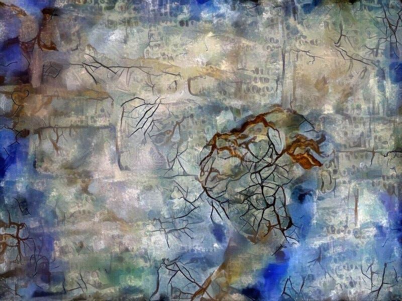 Mujer en colores en colores pastel ilustración del vector